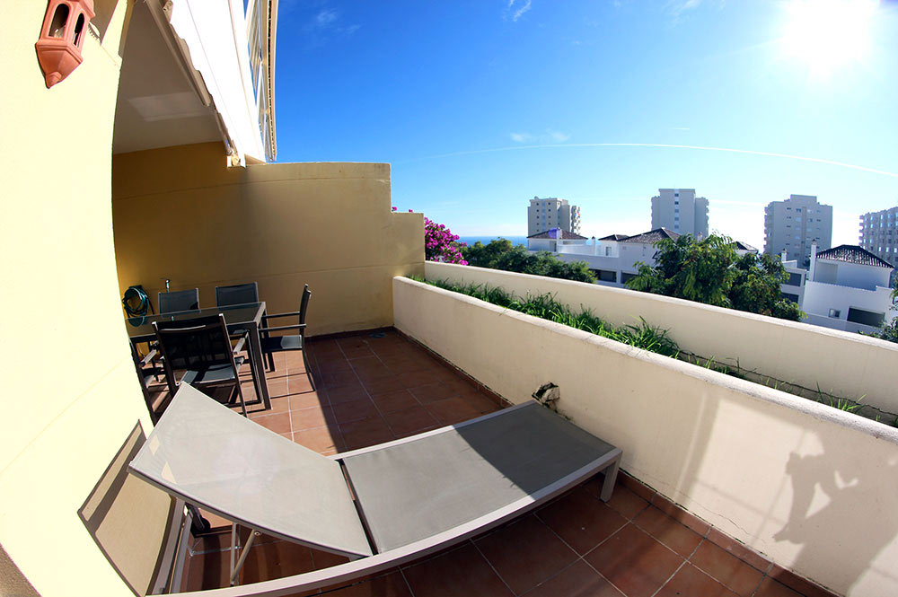 Terrasse location golf estepona