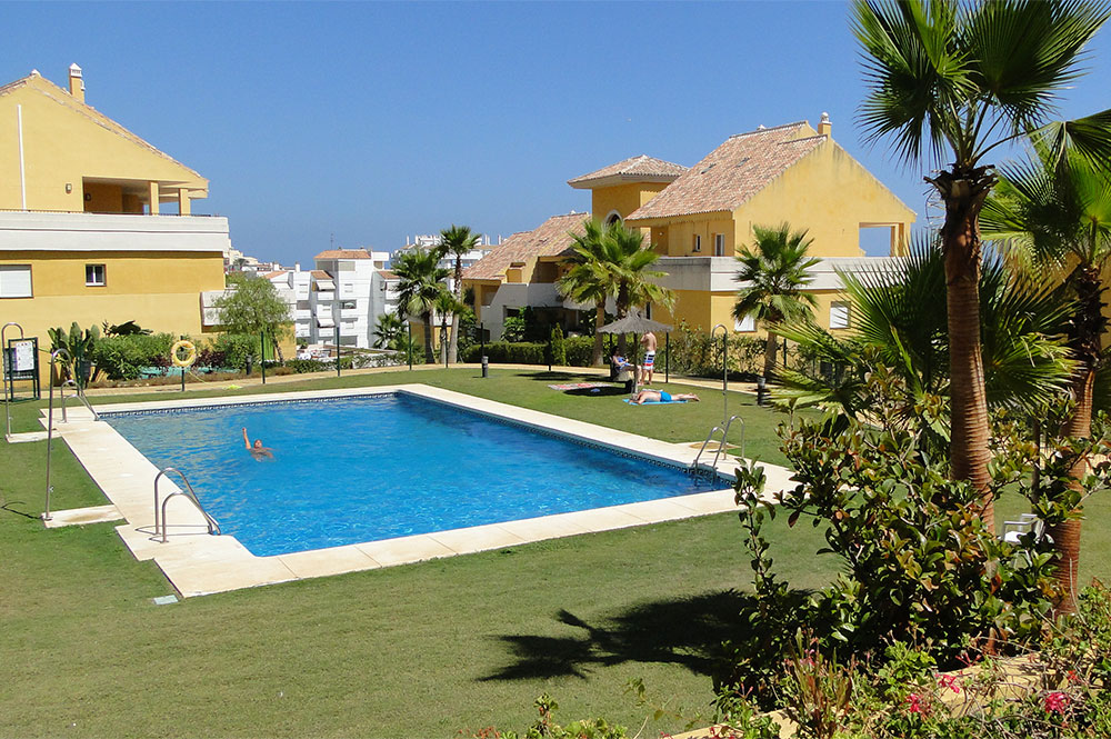 Piscine de la location estepona