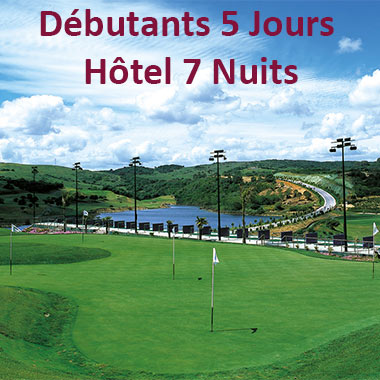 stages golf debutants andalousie